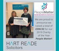 Hart Reade funds raised2